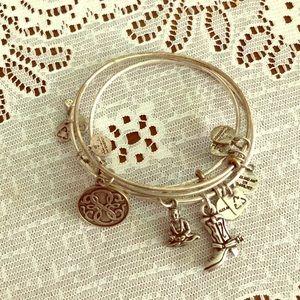 • 3 Alex and Ani Bracelets •